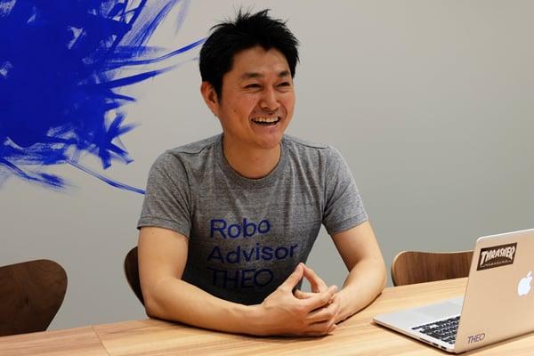 THEOを運営する、お金のデザインの北澤直氏。「投資未経験の人にぜひ使ってもらいたい」と話す
